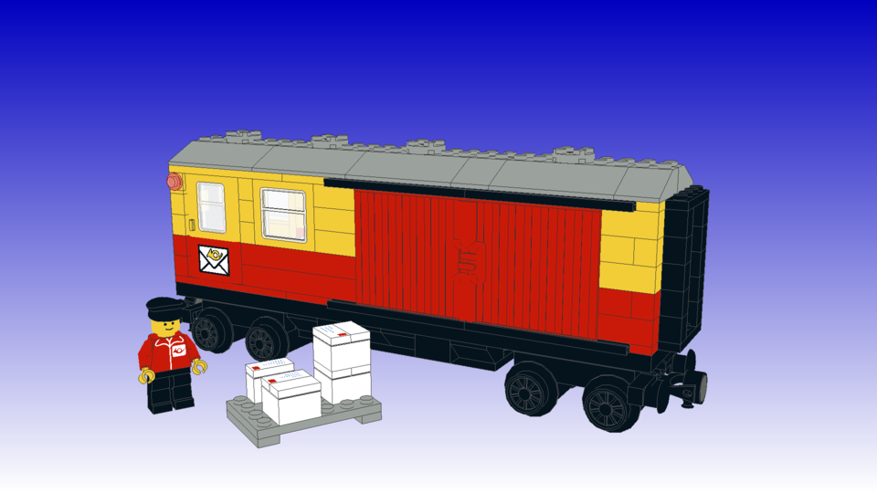 [Image: 7819 - Postal Container Wagon Covered.png]